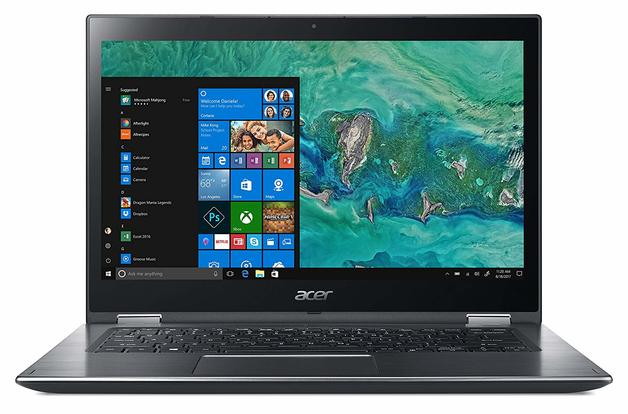 """Acer Spin 3 14"""" i5 4GB RAM 128GB SSD Touch Flip"""