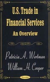 US Trade in Financial Services by Patricia A. Wertman image