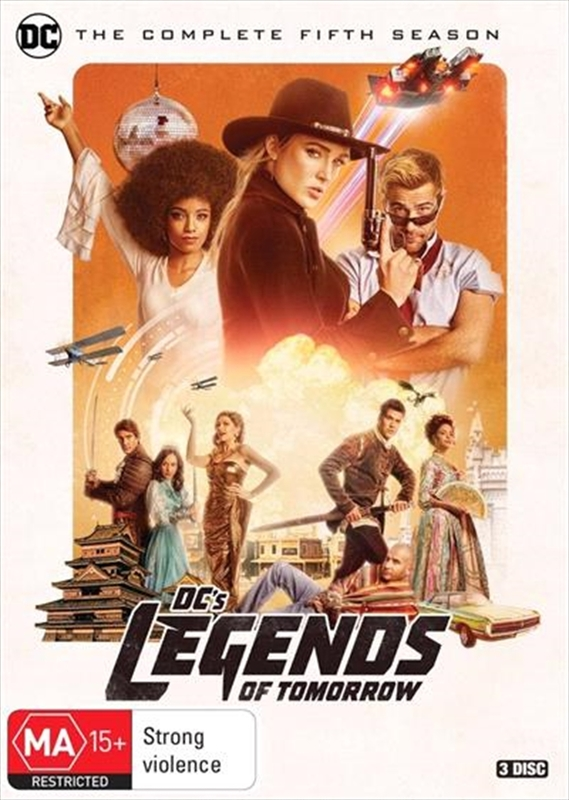 DC's Legends Of Tomorrow - Season 5 on DVD