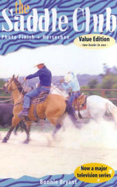 Saddle Club: Photo Finish / Horseshoe by Bonnie Bryant image