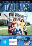 Dallas - The Complete 1st and 2nd Seasons (5 Disc Box Set) DVD