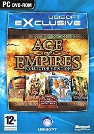 Age Of Empires Collectors Edition (1 & 2 + Expansions) for PC Games