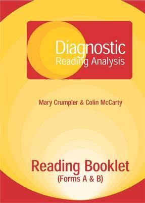 Diagnostic Reading Analysis (DRA) Reading Booklet by Mary Crumpler