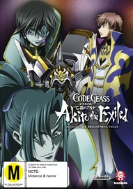Code Geass: Akito The Exiled - Episode 3: The Brightness Falls DVD