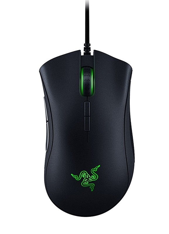 Razer DeathAdder Elite Gaming Mouse for PC Games