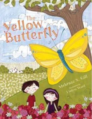 Yellow Butterfly by Mehrnaz S Gill