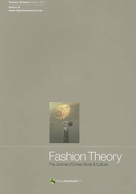 Fashion Theory: The Journal of Dress, Body and Culture image