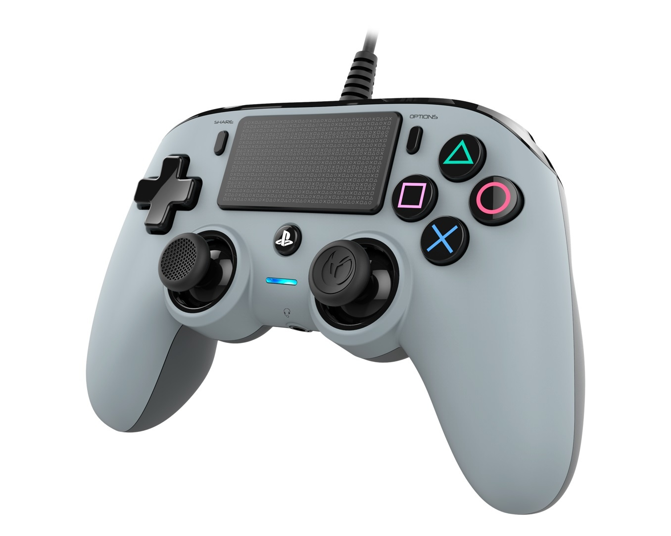Nacon PS4 Wired Gaming Controller - Grey for PS4 image