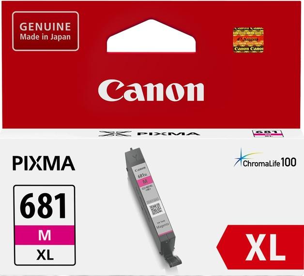 Canon CLI681XLM Magenta High Yield Ink Cartridge