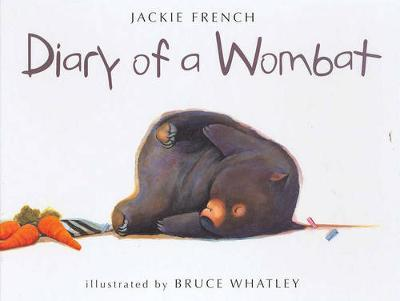 Diary of a Wombat by Jackie French image