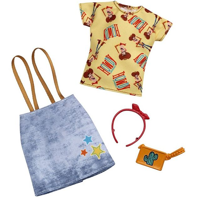 Barbie: Toy Story - Complete Looks Accessory Pack (Woody Outfit)