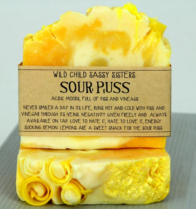 The Crafty Chook Sour Puss Soap
