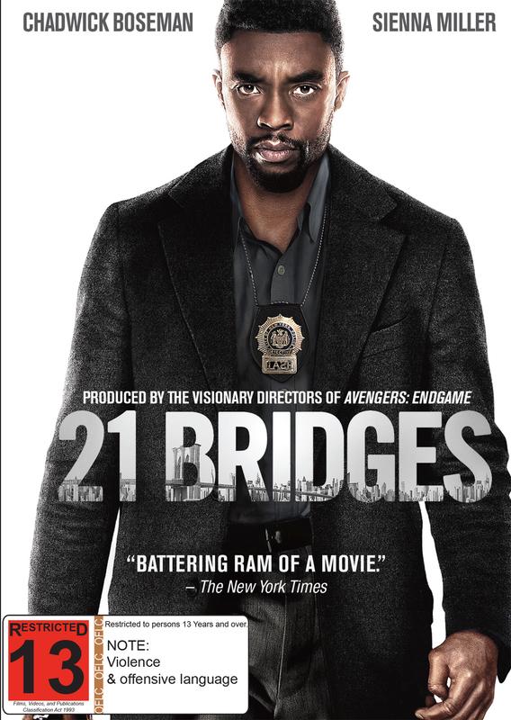 21 Bridges on DVD