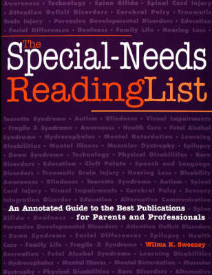 The Special-Needs Reading List: An Annotated Guide to the Best Publications for Parents and Professionals image