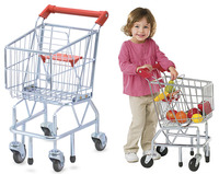 Deluxe Shopping Trolley (metal) - Melissa & Doug
