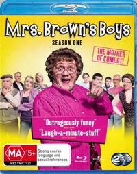 Mrs. Brown's Boys - The Complete First Season on Blu-ray