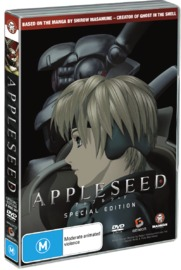 Appleseed The Movie - Special Edition (2 Disc Set) on DVD image