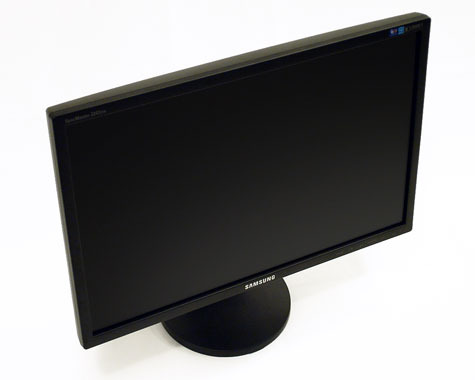 "Samsung 22"" 2243BW wide 5ms DVI Black LCD Monitor"