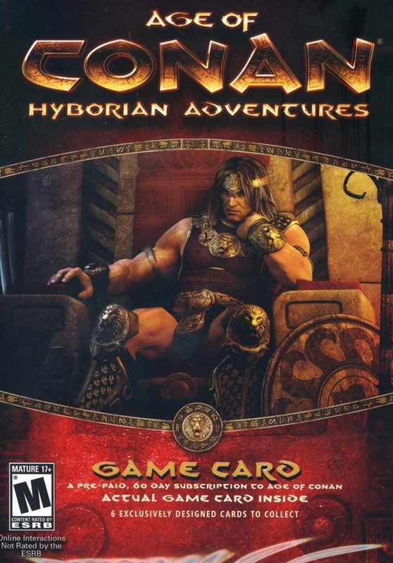 Age of Conan - Hyborian Adventures Timecard for PC Games