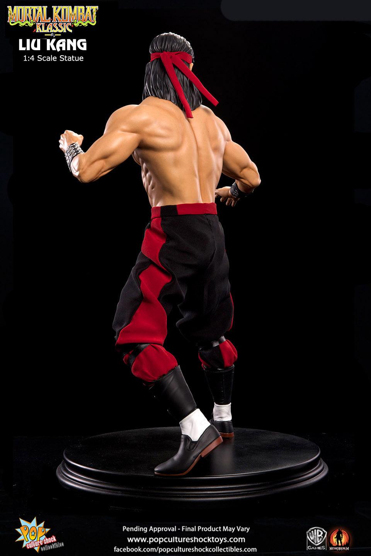 Mortal Kombat Klassic Liu Kang 1/4 Scale Statue image