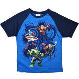 Marvel Avengers Assemble Blue T-Shirt (Size 16)