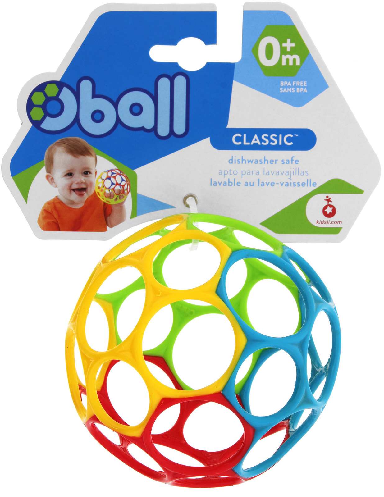 Oball: Classic (Primary Colours) image
