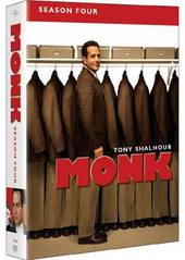Monk - Season 4 (4 Disc Slimline Set) on DVD