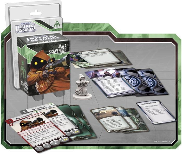 Star Wars: Imperial Assault - Jawa Scavenger Villain Pack image