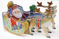 Santa's Sleigh by Annie Auerbach