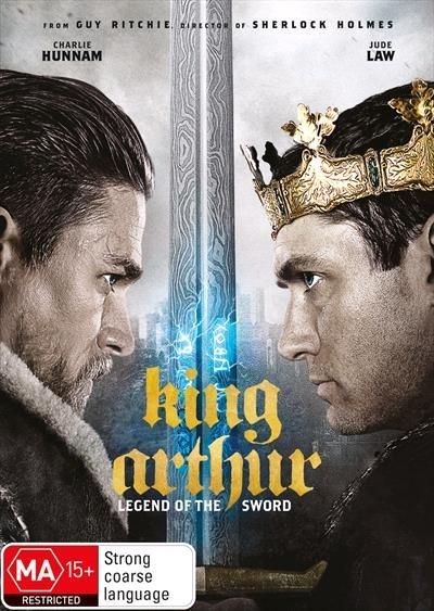 King Arthur: Legend of the Sword on DVD image