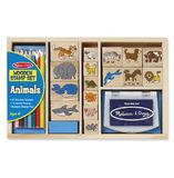 Melissa & Doug: Animals Wooden Stamp Set