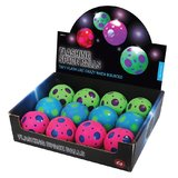 Flashing Space Ball (60mm) - Assorted Colours