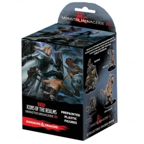 Dungeons & Dragons: Icons of the Realms Monster Menagerie 3 Booster Pack image