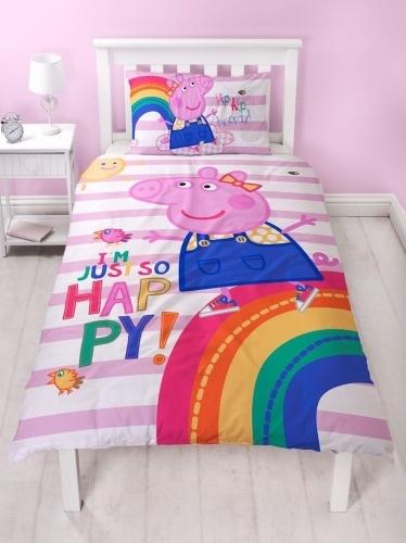 Peppa Pig Single Duvet Set