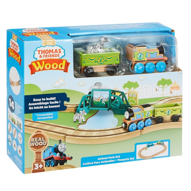 Thomas & Friends: Wooden Railway - Animal Park Set