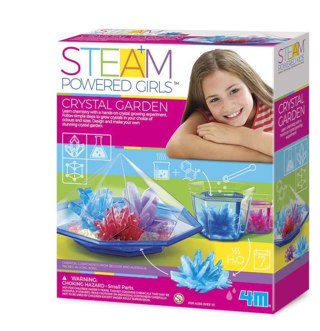 4M STEAM Girls: Crystal Garden Science Kit