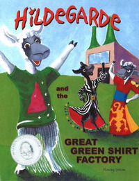Hildegarde and the Great Green Shirt Factory by Ravay Snow image
