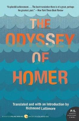 """The """"Odyssey"""" of Homer by Richmond Lattimore image"""