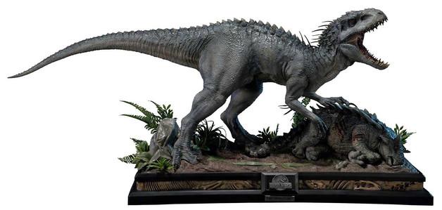 """Jurassic World: Indominus Rex - 18"""" Premium Statue"""