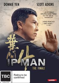 IP Man 4: The Finale on DVD image