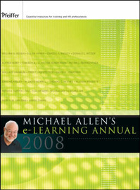 Michael Allen's 2008 e-Learning Annual image