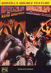 Godzilla Double #2 - Godzilla and Mothra, Godzilla vs Ghidorah on DVD