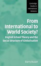 From International to World Society? by Barry Buzan image