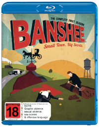Banshee - The Complete First Season on Blu-ray image