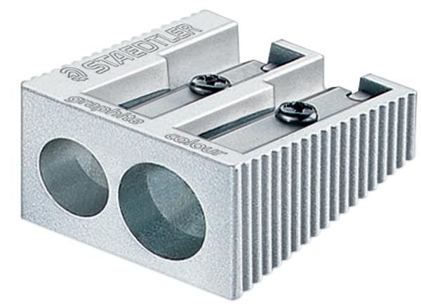 Staedtler Double Hole Metal Sharpener