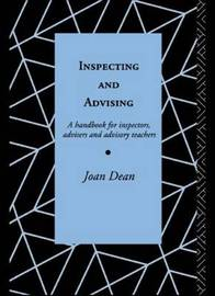 Inspecting and Advising by Joan Dean image