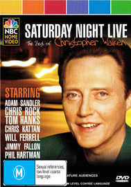 Saturday Night Live: The Best of Christopher Walken on DVD