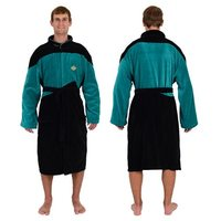 Star Trek The Next Generation Bathrobe (Blue Science)