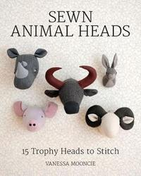 Sewn Animal Heads by Vanessa Mooncie