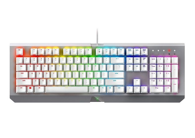 Razer BlackWidow Chroma X Gaming Keyboard - Mercury Edition for PC